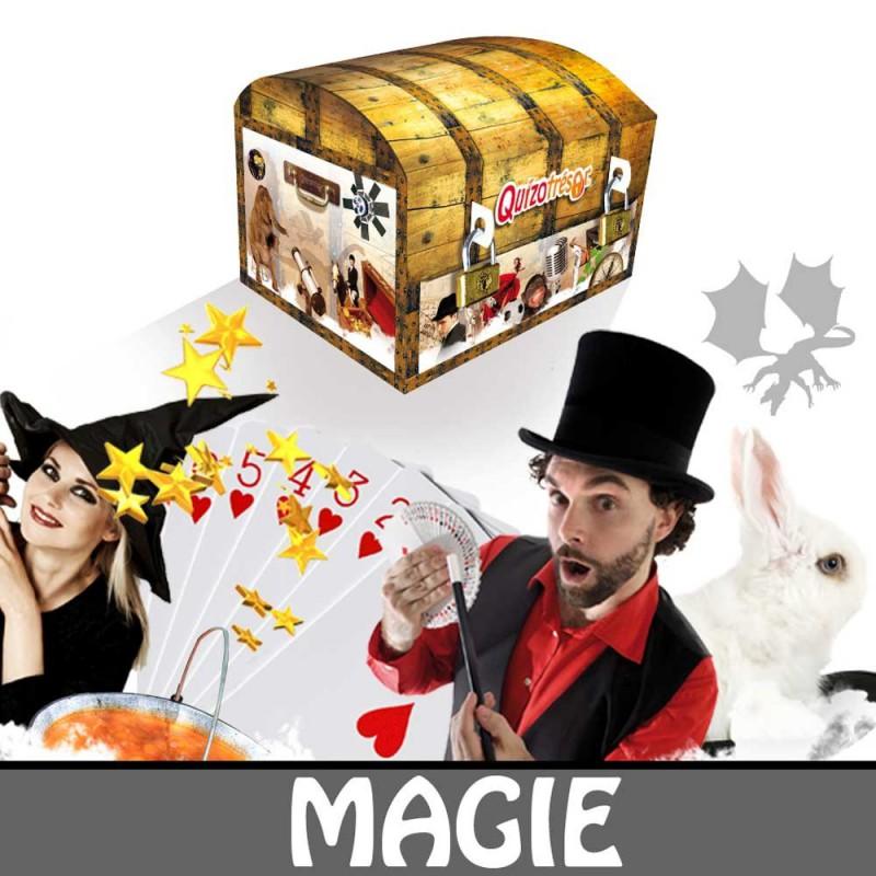 Kit physique Chasse au trésor Magie 6-8 ans