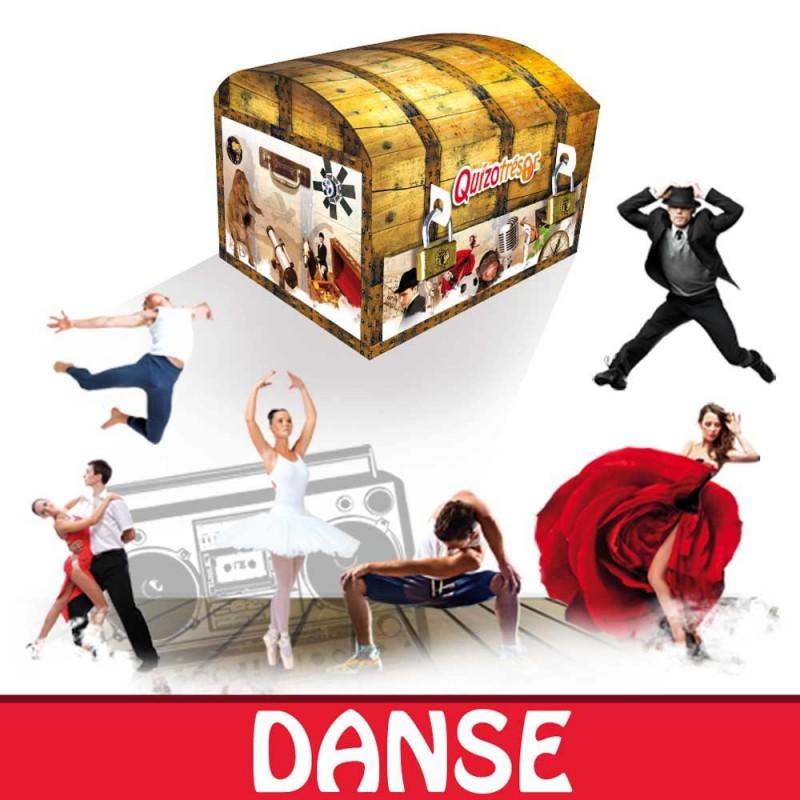 Kit physique Chasse au trésor Danse 6-8 ans