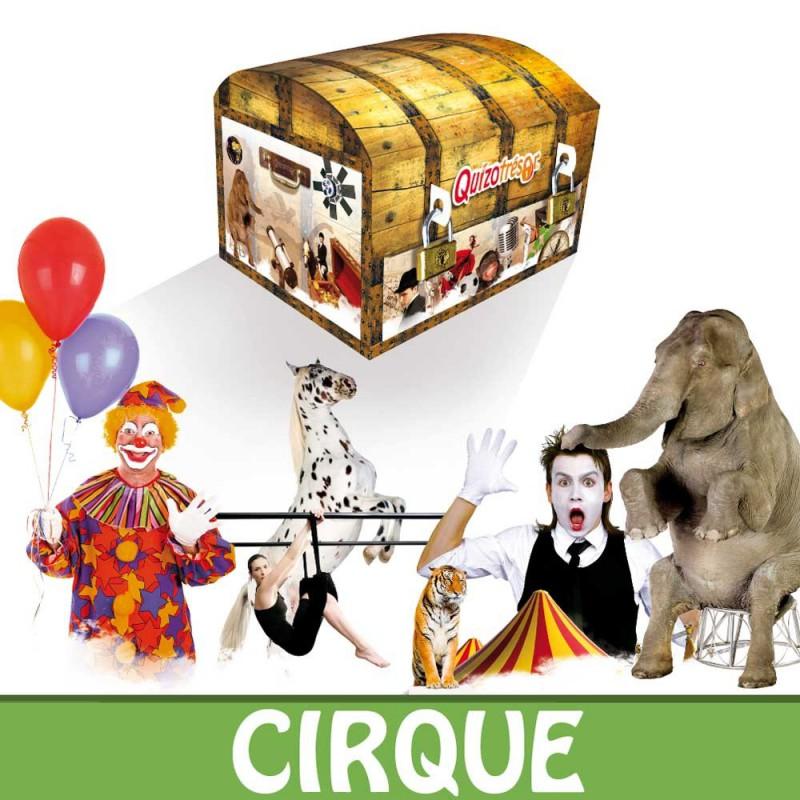 Kit physique Chasse au trésor Cirque 6-8 ans