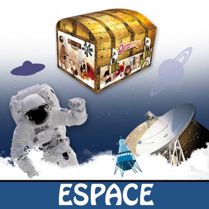Kit physique Chasse au trésor Espace 9-12 ans