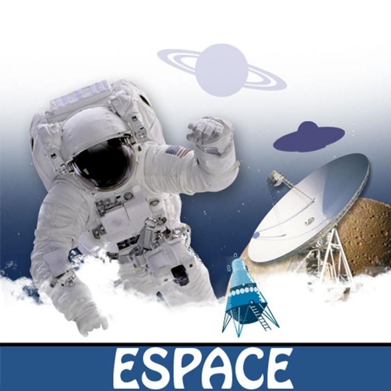 Kit à télécharger Chasse au trésor à imprimer Espace 9-12 ans