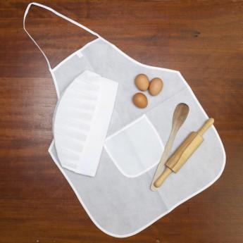 Tablier et toque de cuisine