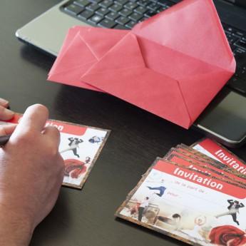 Enveloppes rouges (x8)