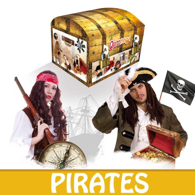 Kit physique Chasse au trésor Pirates 6-8 ans