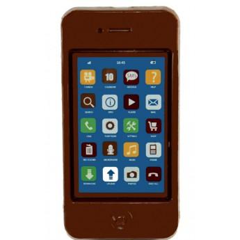 Smartphone en chocolat