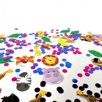 Confettis de table Animaux
