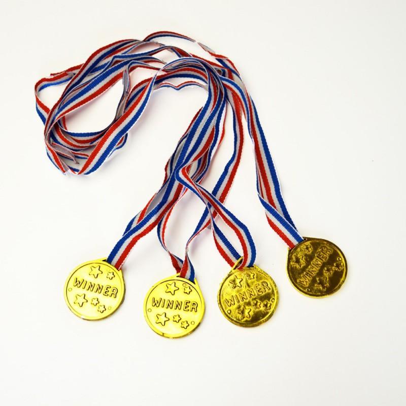Médaille avec ruban tricolore