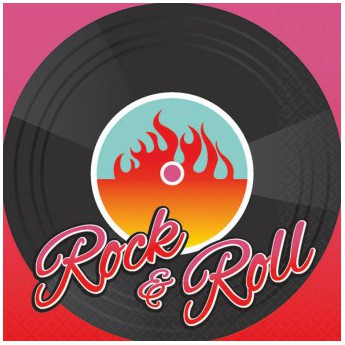Serviettes Danse Rock'n Roll