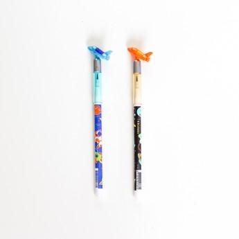 Crayon fantaisie navette...