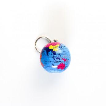 Porte-clés globe terrestre