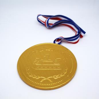 Médaille en chocolat