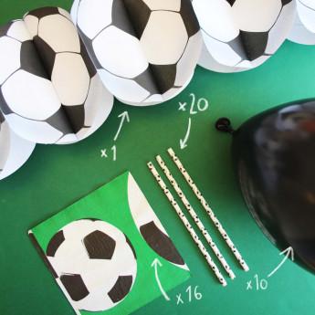 kit déco anniversaire Football