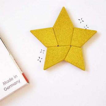 Puzzle étoile en pierre