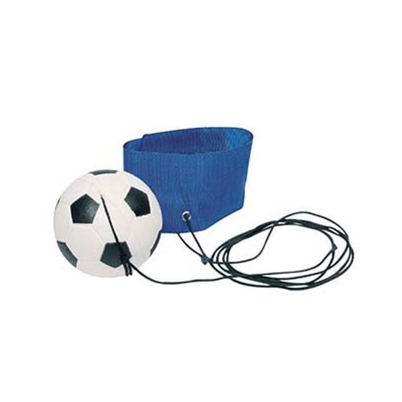 Ballon foot au poignet