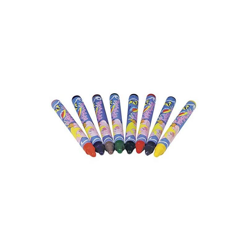Crayons de coloriage pour textile