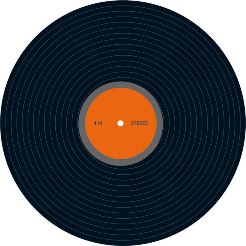 Décor disque vinyl