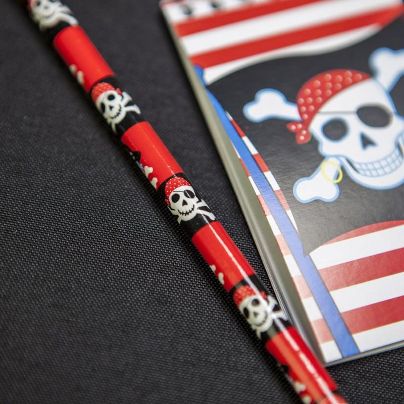 Crayons de papier Pirates (x12)